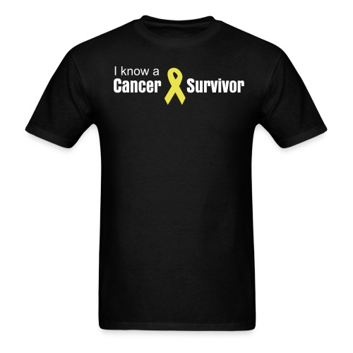 I know a Cancer Survivor - Men's T-Shirt