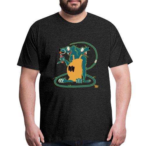 Rats only-1 - Men's Premium T-Shirt