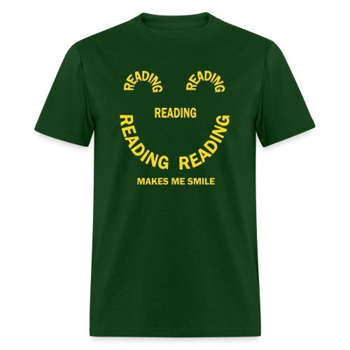 Reading Smile - Men's T-Shirt