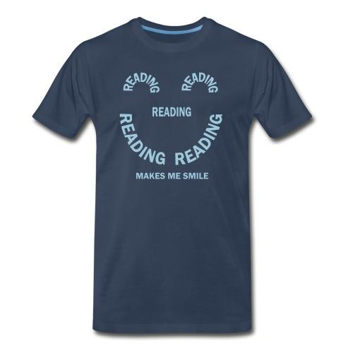 Reading Smile - Men's Premium T-Shirt