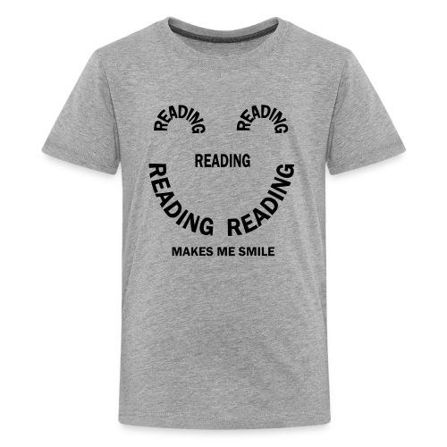 Reading Smile - Kids' Premium T-Shirt
