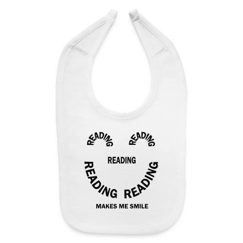 Reading Smile - Baby Bib