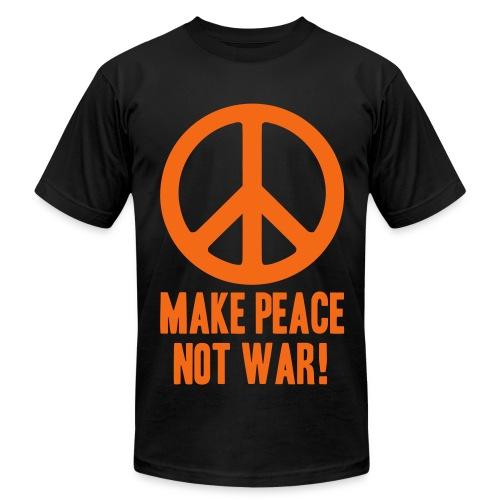Make Peace Not War! - Men's Fine Jersey T-Shirt