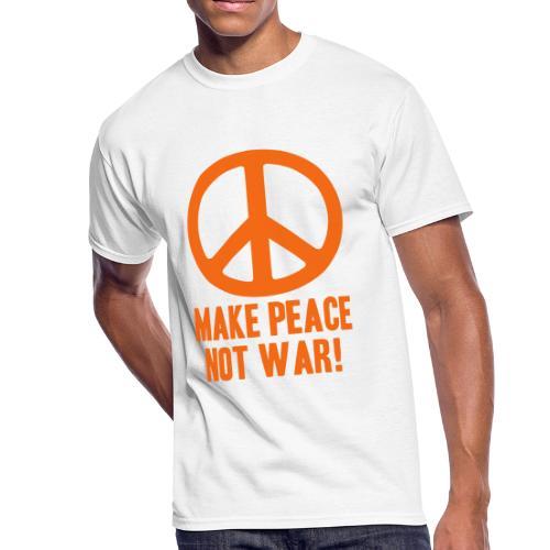 Make Peace Not War! - Men's 50/50 T-Shirt