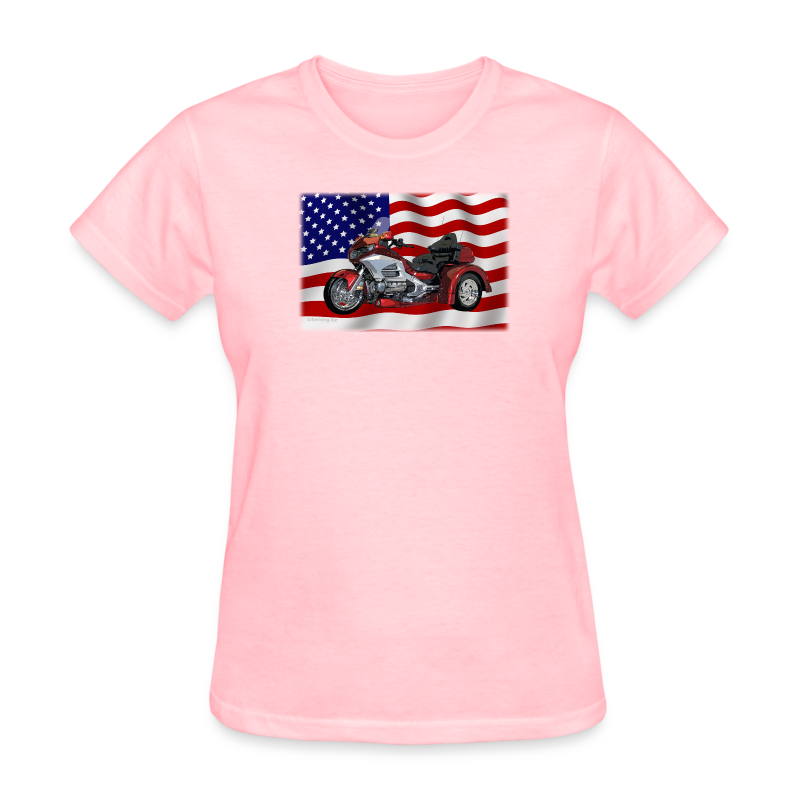 Ladies T Front FlagWingTrike - Women's T-Shirt