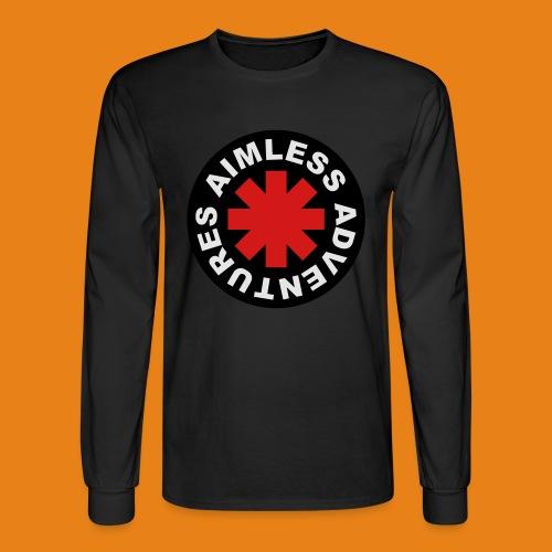Red Hot Adventure - Men's Cotton - Men's Long Sleeve T-Shirt