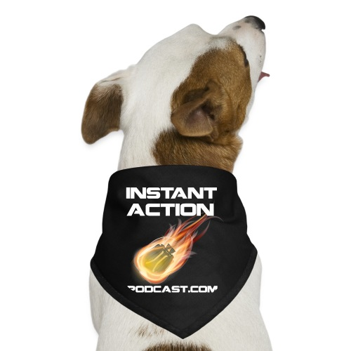 Official Instant Action Podcast Dog Bandana - Dog Bandana