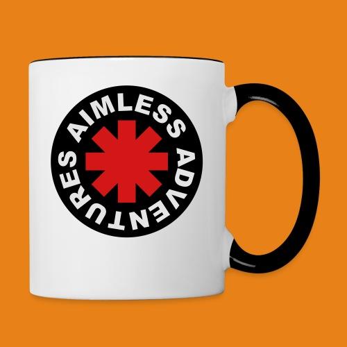 Red Hot Adventure - Contrast Mug - Contrast Coffee Mug