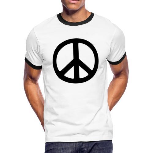 Peace - Men's Ringer T-Shirt