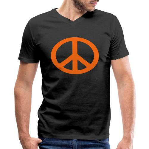 Peace - Men's V-Neck T-Shirt by Canvas