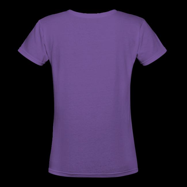 LOEBD Women's V-Neck T-Shirt