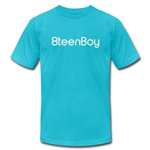 8teenBoy Logo - Men's Fine Jersey T-Shirt - Men's Fine Jersey T-Shirt