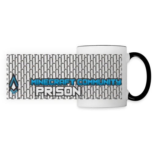 Community Prison Panorama Mug w/Bars - Panoramic Mug