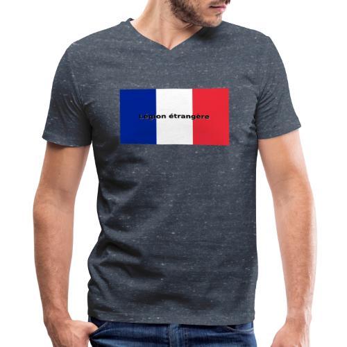 Legion etrangere - Men's V-Neck T-Shirt by Canvas