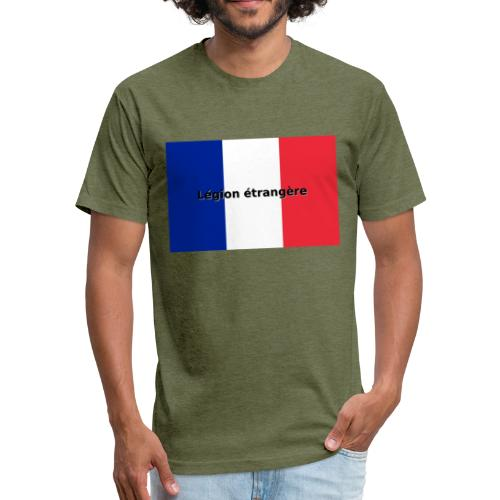 Legion etrangere - Fitted Cotton/Poly T-Shirt by Next Level