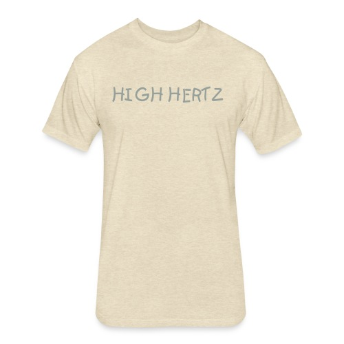 High Hertz Vibe Tee - Fitted Cotton/Poly T-Shirt by Next Level