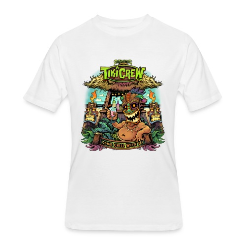 Tiki Bar - Men's 50/50 T-Shirt