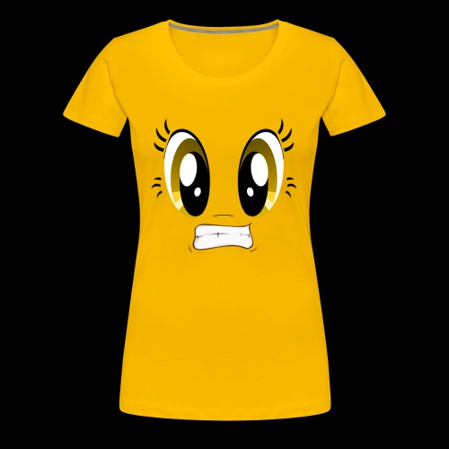 Sour Face - Lemon - Women's Premium T-Shirt
