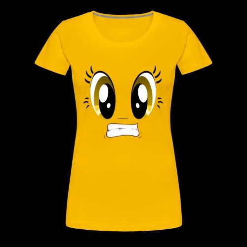 Sour Face - Lemon - Women's Premium T-Shirt