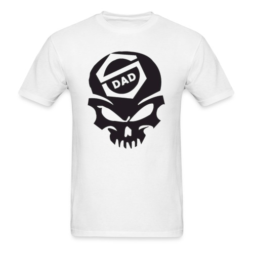 Super Dad Skull T-shirt - Men's T-Shirt