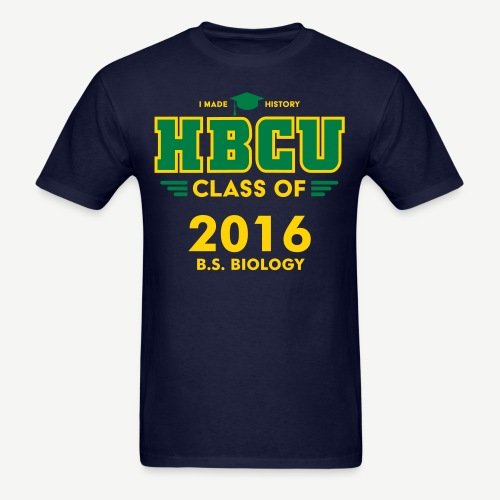 HBCU Grad Class and Major [Personalize it] - Men's T-Shirt