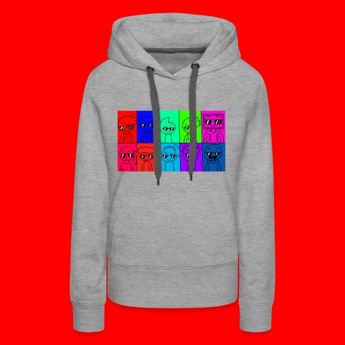 Young Animation Squad - Hoodie (Women) - Women's Premium Hoodie