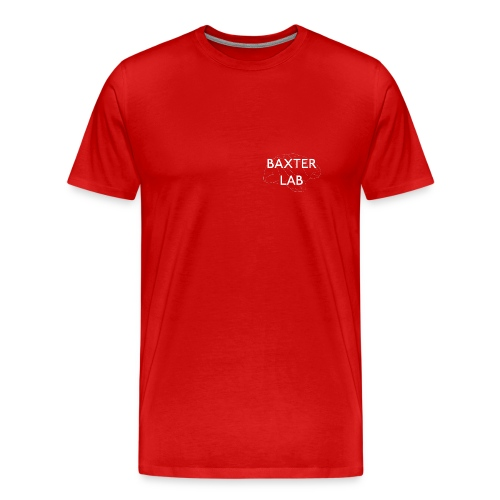 Baxter Lab: le singe est-il le frere de l'homme? - Men's Premium T-Shirt
