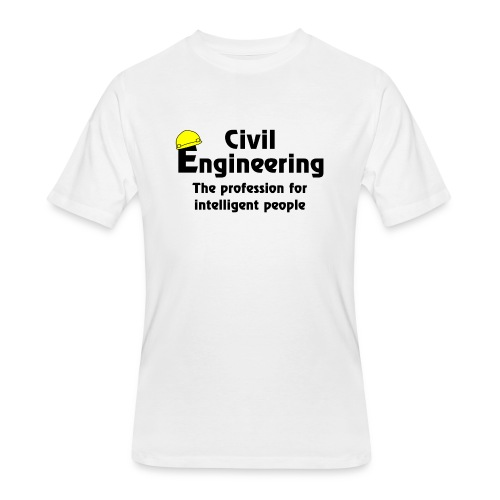 Smart Civil Engineer - Men's 50/50 T-Shirt