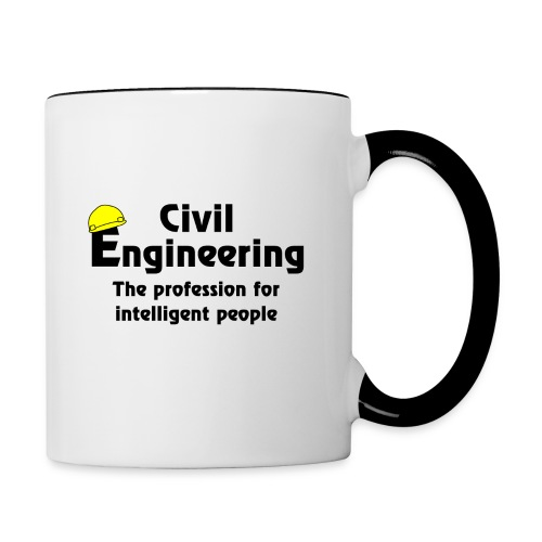 Smart Civil Engineer - Contrast Coffee Mug