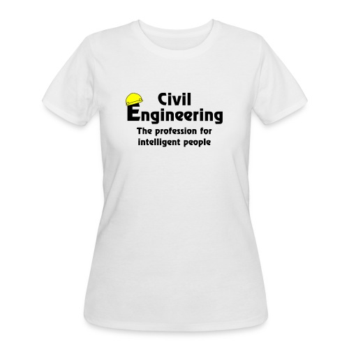 Smart Civil Engineer - Women's 50/50 T-Shirt
