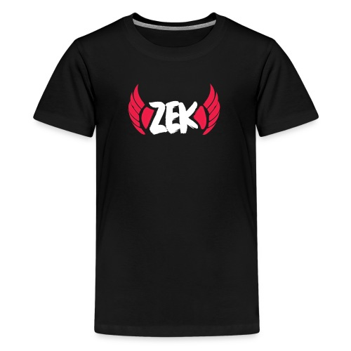 Zek Logo Shirt - Kid - Kids' Premium T-Shirt