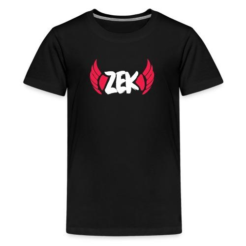Zek Logo Shirt - Kid - Kids' Premium T-Shirt