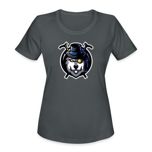 Big logo - Women's Moisture Wicking Performance T-Shirt
