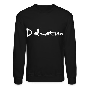 Dalmatian Sweater (BLACK) - Crewneck Sweatshirt