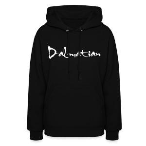 Dalmatian Hoodie (BLACK) - Women's Hoodie