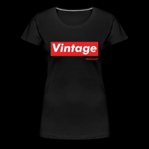 U7 - Vintage - Women's Premium T-Shirt