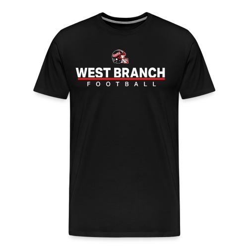 West Branch Football 2018 - Men's Premium T-Shirt