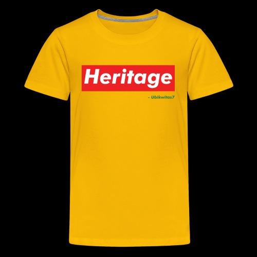 U7 - Heritage - Kids' Premium T-Shirt