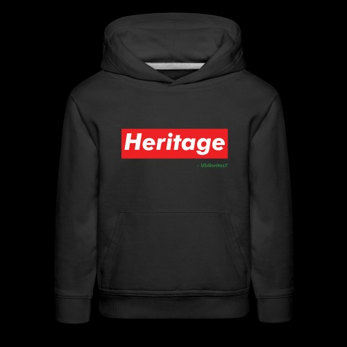 U7 - Heritage - Kids' Premium Hoodie