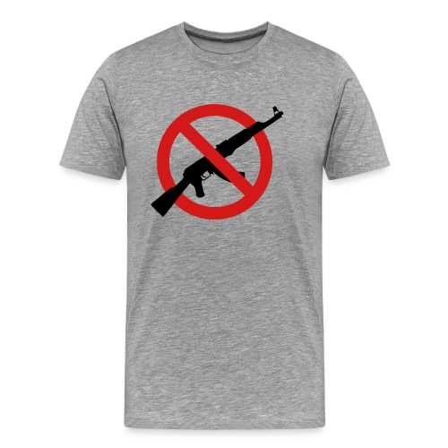 No Weapons AK-47 vs. Peace - Men's Premium T-Shirt