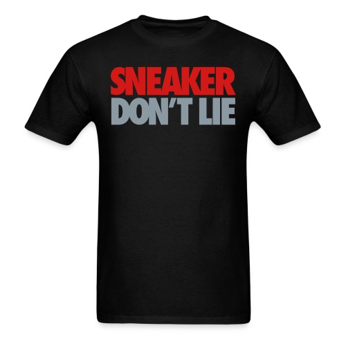Sneaker Don't Lie J's - Men's T-Shirt