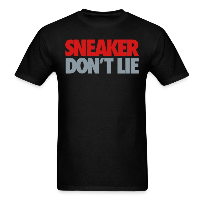Sneaker Don't Lie J's - Men's T-Shirt