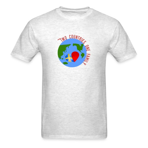Two Countries One Familiy - Men's T-Shirt