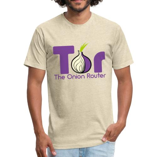 Tor - The Onion Router - Fitted Cotton/Poly T-Shirt by Next Level