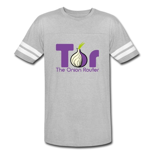 Tor - The Onion Router - Vintage Sport T-Shirt