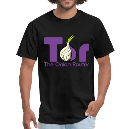 Tor - The Onion Router - Men's T-Shirt