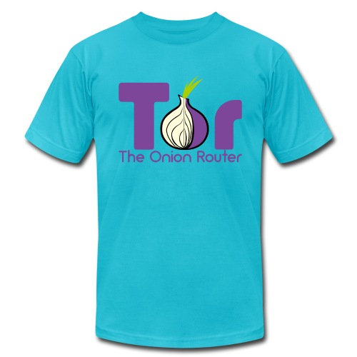 Tor - The Onion Router - Men's Fine Jersey T-Shirt