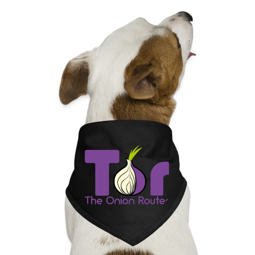 Tor - The Onion Router - Dog Bandana