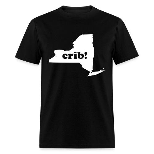 crib!! (Men's) New York - Men's T-Shirt