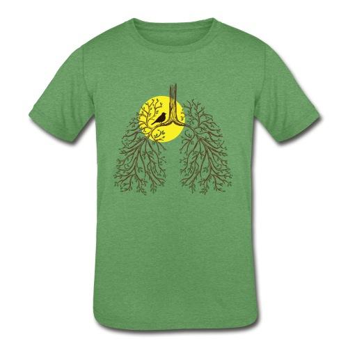 Kids Tri-Blend Situs Inversus - Kids' Tri-Blend T-Shirt